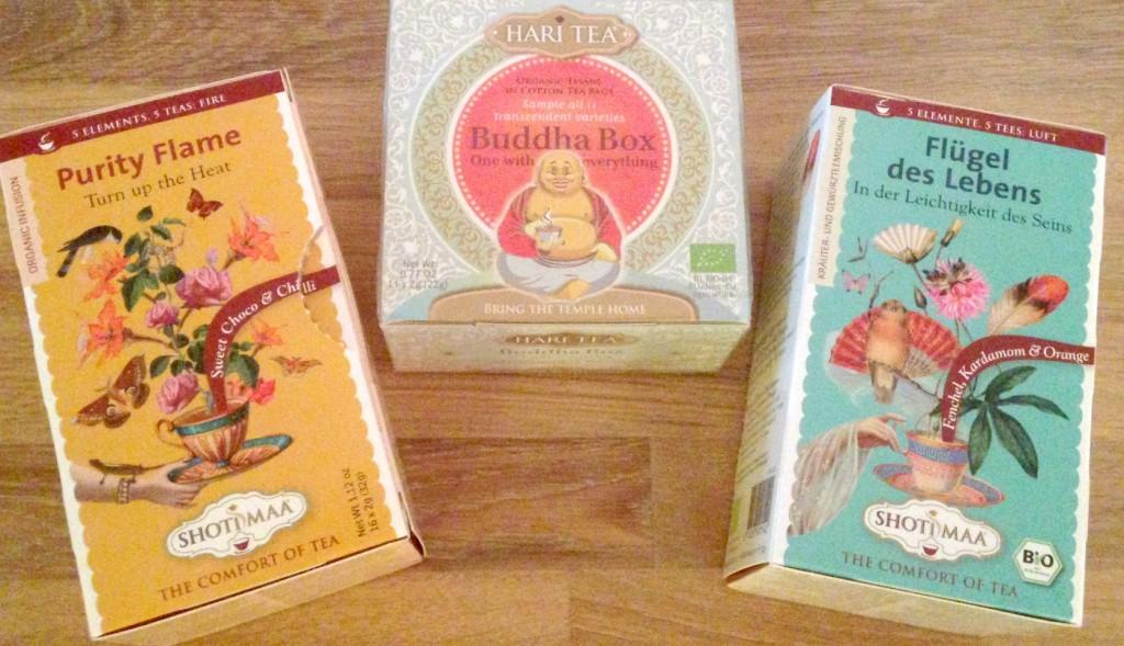 Tre teer fra Hari Teas