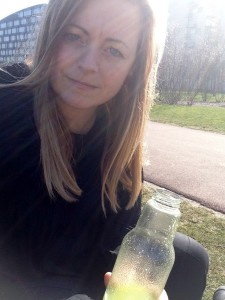 Juice i solen
