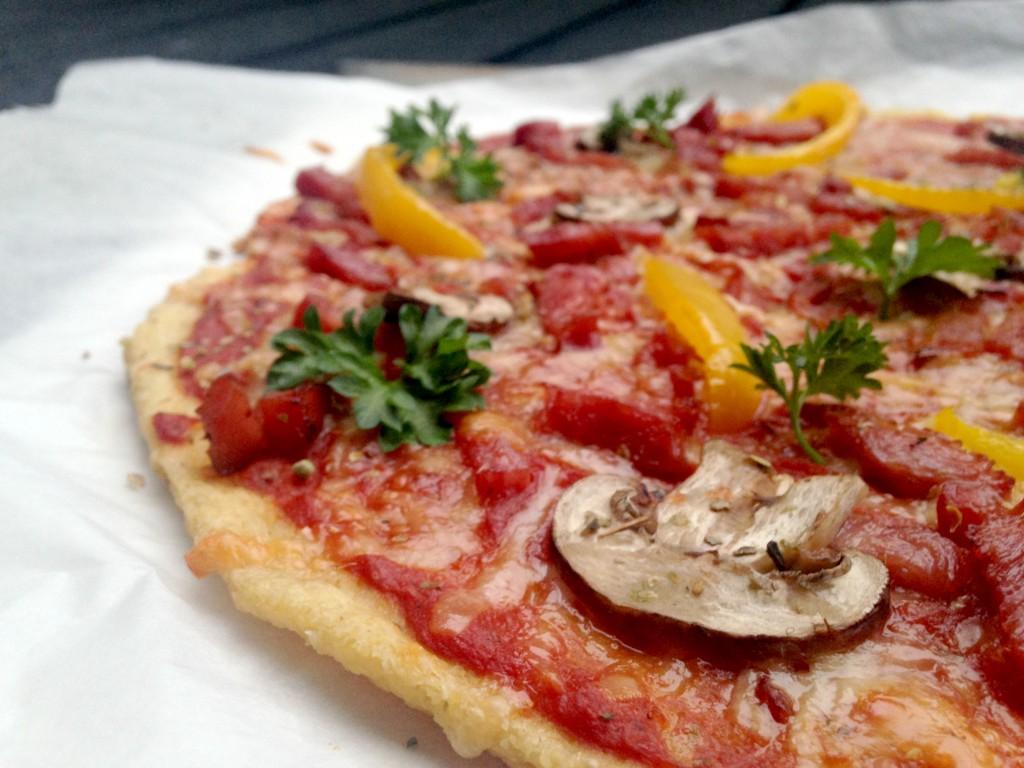 Sprød pizza